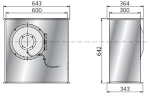 Вентилятор RKX700х400B3 - вид 2