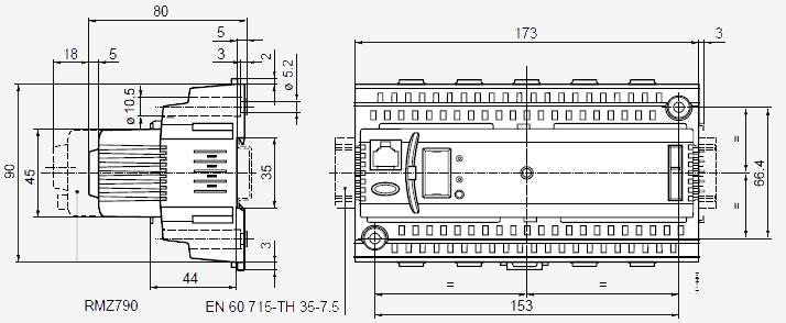 Контроллер RMU710B-1 - вид 2