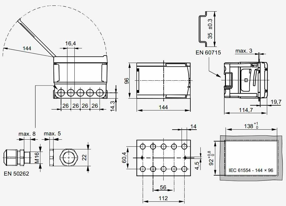 Контроллер RVP211.1 - вид 2