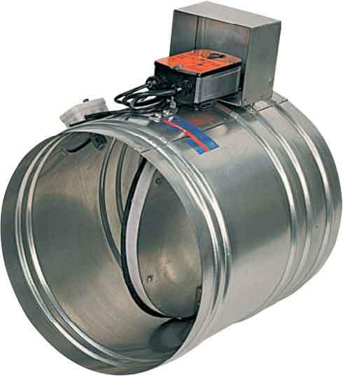 Клапан КЛОП-1(60)-НО-MB(220)-ф100