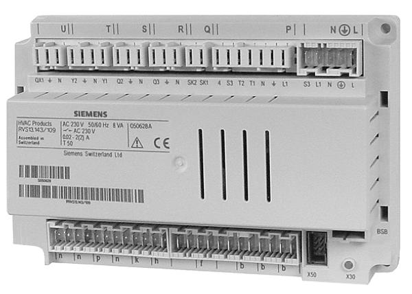 Контроллер RVS61.843/101