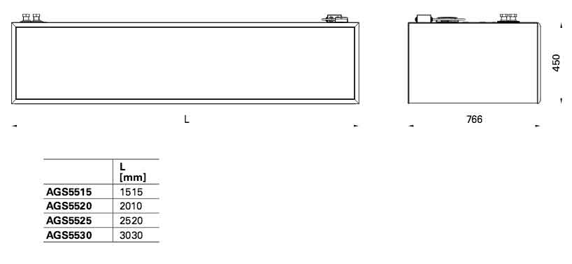 Тепловая завеса Frico ADCS22A-V