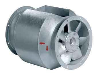 Осевой вентилятор AXCBF 250D2-32