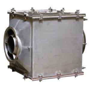 Металлический корпус Ду-350