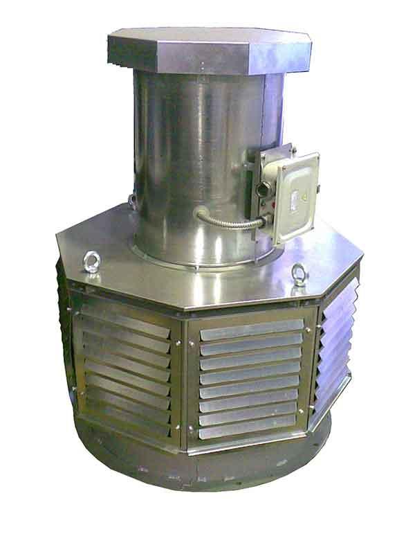 Вентилятор ВКР-7,1-Ду-C-2ч/400°-11,0/1500