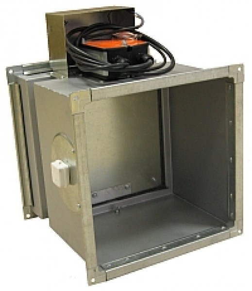 Клапан КПС-1(60)-НО-МВ(220)-550х550