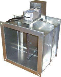 Клапан КПС-1(60)-НО-ЭМ(220)-300х300