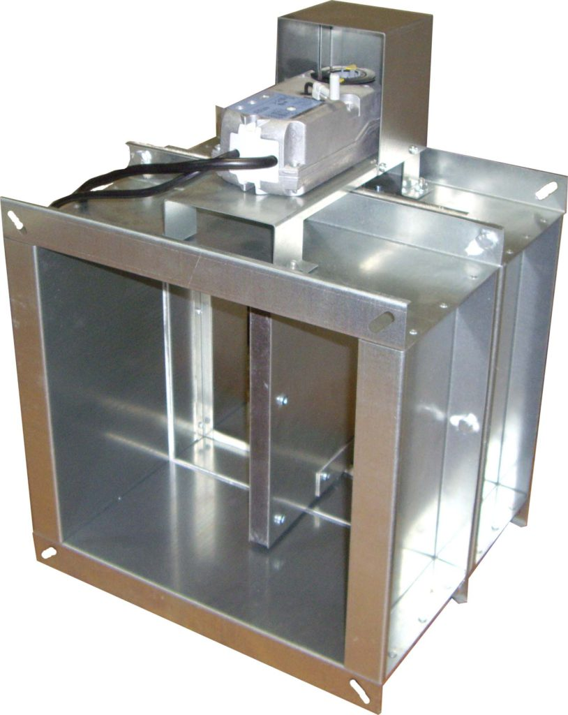 Клапан КПС-1 (60)-НО-ЭМ(220)-550х550