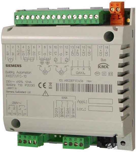Контроллер комнатный RXB21.1/FC-11