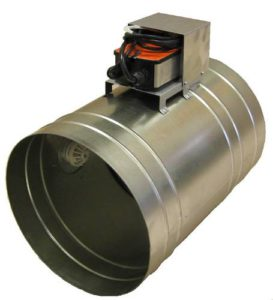Клапан КПС-1(90)-НО-ЭМ(220)-ф200